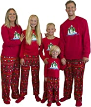 penguin family pajamas
