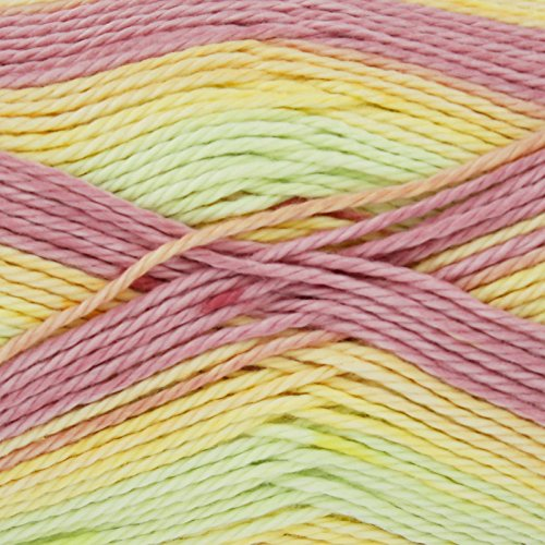 King Cole Cottonsoft Crush DK 100% Cotton 100g Knitting Yarn (Rainbow 2435)
