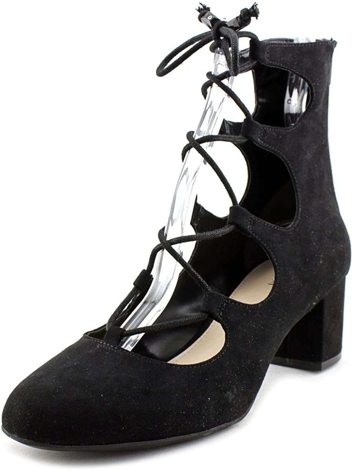 Bar III Percy Women US 7.5 Black Ankle Boot