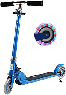 Sweet decorations Mini Kick Scooter, Stunt Scooter with Flashing led Light,  Adjustable Height Scooters, Folding Scooter for Kids Age 4-10