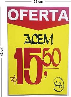 Radex 4950, Cartaz para Marcação, Multicolor, Pacote de 100