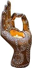 Creatieve kaarsenhouder decoratieve kandelaar in boeddhistische stijl hars Zen handgevormd handwerk wierookbrander voor th...