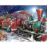 Aaubsk Puzzle 1000 Teile Santa DIY Kunstgeschenk Puzzle 1000 Teile Tiere Geschicklichkeitsspiel für...