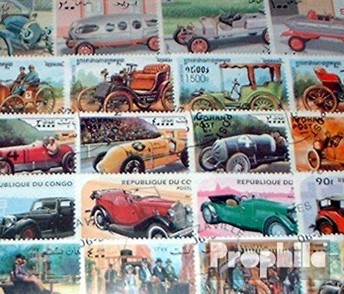 Prophila Collection Motivazioni 200 Diversi Automobile e Veicoli a Motore Francobolli (Francobolli per i Collezionisti) Traffico Stradale