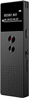 comprar comparacion Mibao Grabadora de Voz Digital Portátil,HD Grabador de Sonido con Reproductor de MP3, Micrófono Incorporado Externo, Reduc...