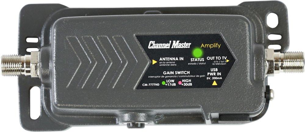 Channel Master CM 7777HD Amplifier Adjustable