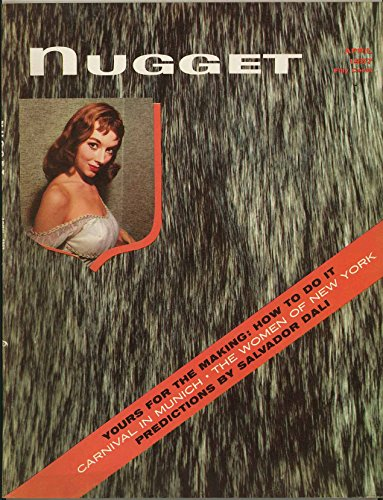 Nugget Pin-Up Magazine - April 1957 - Vicki Dougan the real-life Jessica Rabbit Photo Feature