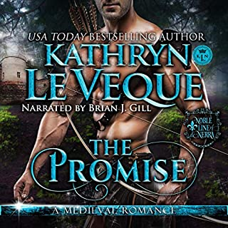 The Promise      Noble Line of De Nerra, Book 3              By:                                                                                                                                 Kathryn Le Veque                               Narrated by:                                                                                                                                 Brian J. Gill                      Length: 16 hrs and 31 mins     1 rating     Overall 5.0
