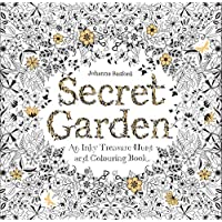 Secret Garden: An Inky Treasure Hunt and Coloring Book [Paperback]