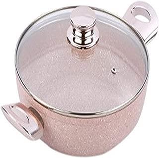 Bisetti BT-28371 Stonerose Aluminum Pan, Medium, Pink
