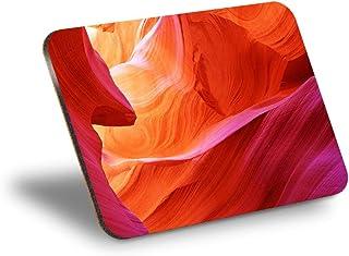 Destination Vinyl ltd Mantel individual de corcho 290 x 215 – Antelope Canyon Page Arizona US Workplace/mantel de mesa/lav...