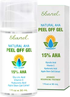 Facial-Chemical-Peel-Glycolic-Lactic Peel for Acne Scars and Dark Marks, Wrinkles, Fine Lines, Pores, Facial Peel with Glycolic Acid, Lactic Acid, TCA, Deep Exfoliation with Hyaluronic Acid, Vitamin C
