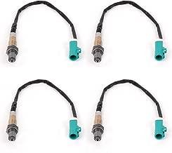 4 Pack Upstream & Downstream O2 Oxygen Sensor Fit for Ford F-150/E-150 Econoline/E-150 Econoline Club Wagon/E-250 Econoline