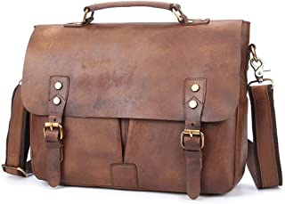 Sponsored Ad – Accompanying Deep Coffee Color Man Carrying A Briefcase A Tanned Hand Scoured One Shoulder Cross Bag Postma...