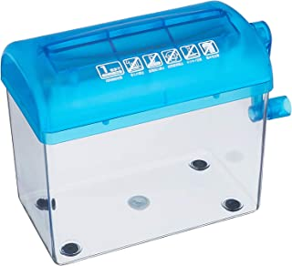 (One piece of correspondence folded A4 portrait, straight cut, capacity 1.5L, cut number) SANWA SUPPLY hand shredder PSD-12 (japan import) by Sanwa