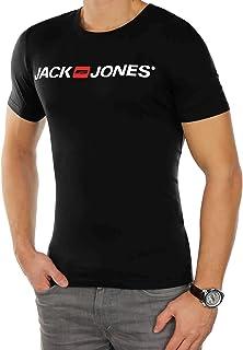 Jack & Jones Men's Corp Logo Tee Shortsleeve Crew Neck T-Shirt