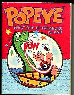 Popeye-Ghost Ship To Treasure Island-1967-Whitman-Big Little Book-VG