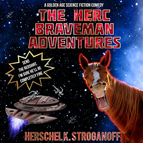 The Herc Braveman Adventures audiobook cover art