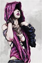 Change is coming Giclee print of Morrigan the witch from Dragon age