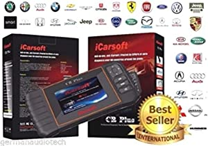 iCarsoft Plus NEW VERSION professional universal OBD2 diagnostic scanner for multi brand vehicles