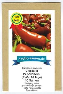 Chili mit mildem Geschmack zum Schafskäse, zum Füllen oder zum Salat - Peperoncini - 10 Samen