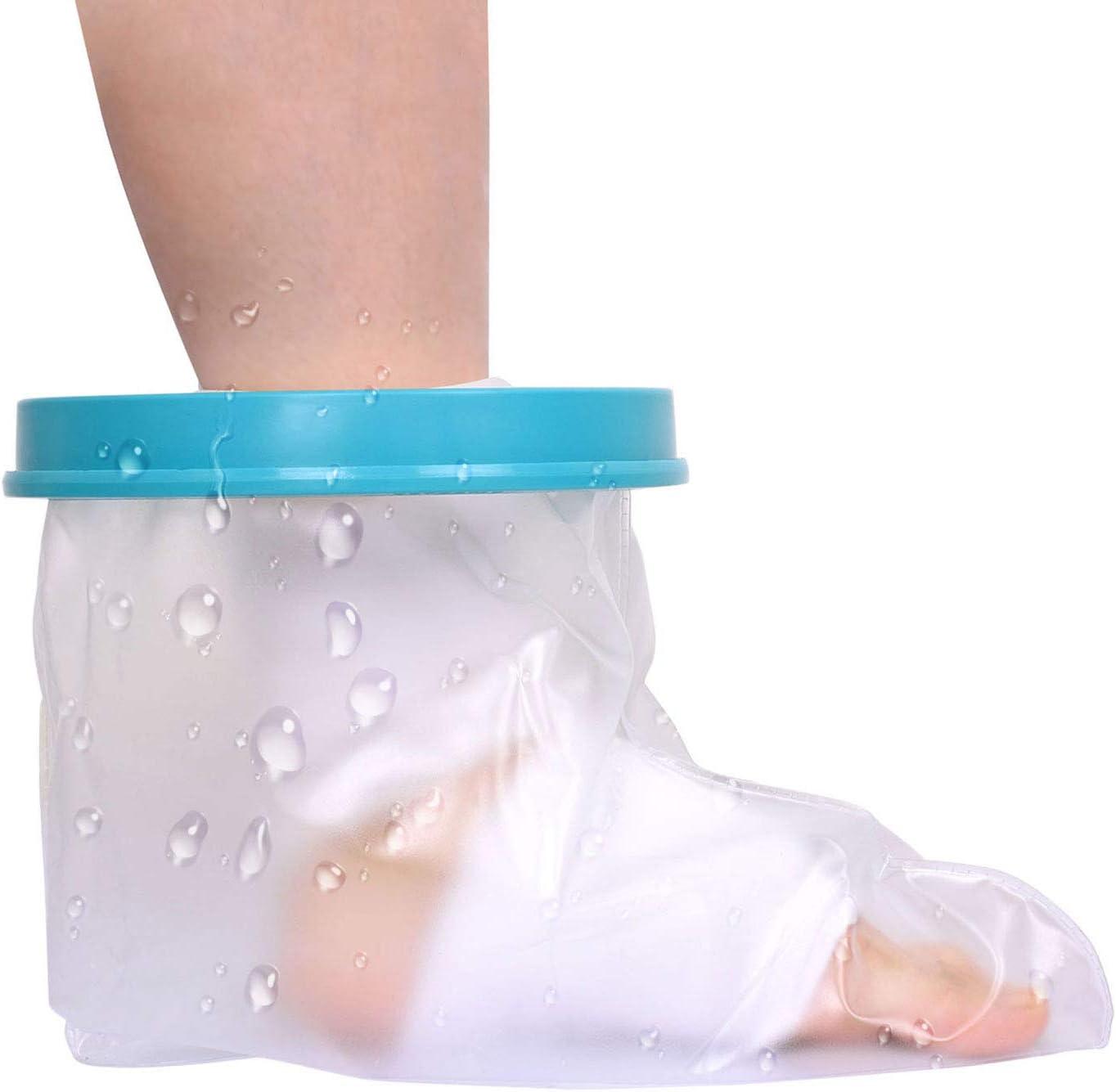 Fuß gipsschiene Rehabilitation bei