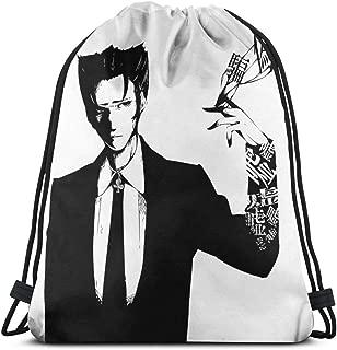 Monogatari - Kaiki Nisemono Sport Bag Gym Sack Drawstring Backpack