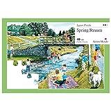 Active Minds Arroyo Primaveral Puzle de 35 Piezas diseñado para Personas...