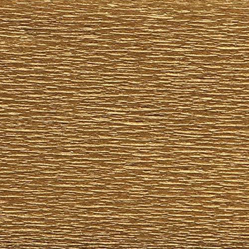 Clairefontaine Papel crepé, dorado, 2x0.50m