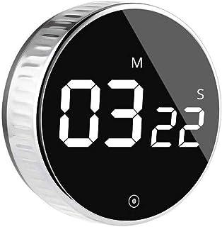 Kitchen Digital Timer, VOLUEX Egg Timer Magnetic Count Down or Up Timer 99 Minute Big Digits Loud Alarm, Simple Operation ...