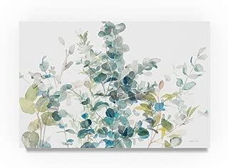 Eucalyptus I White Crop by Danhui Nai, 22x32-Inch Canvas Wall Art