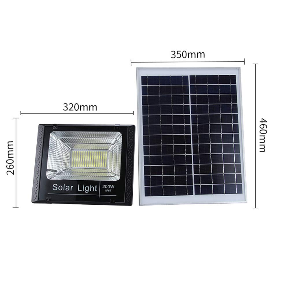 XMAGG Luces Solares LED Exterior, Floodlight Led Foco Proyector ...
