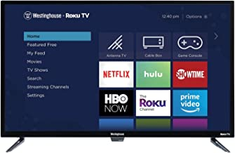 $176 » Westinghouse WR32HT2019 32-Inch HX Series 720p HD Smart Roku TV