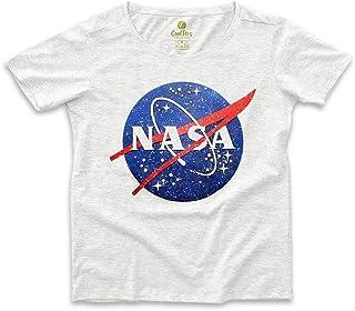 Camiseta Ampla Feminina Geek Cool Tees Nasa Vintage