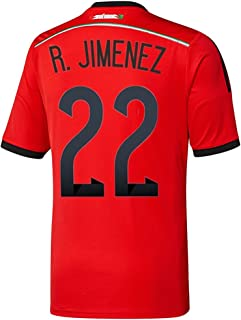 R. Jimenez #22 Mexico Away Jersey World Cup 2014 Youth