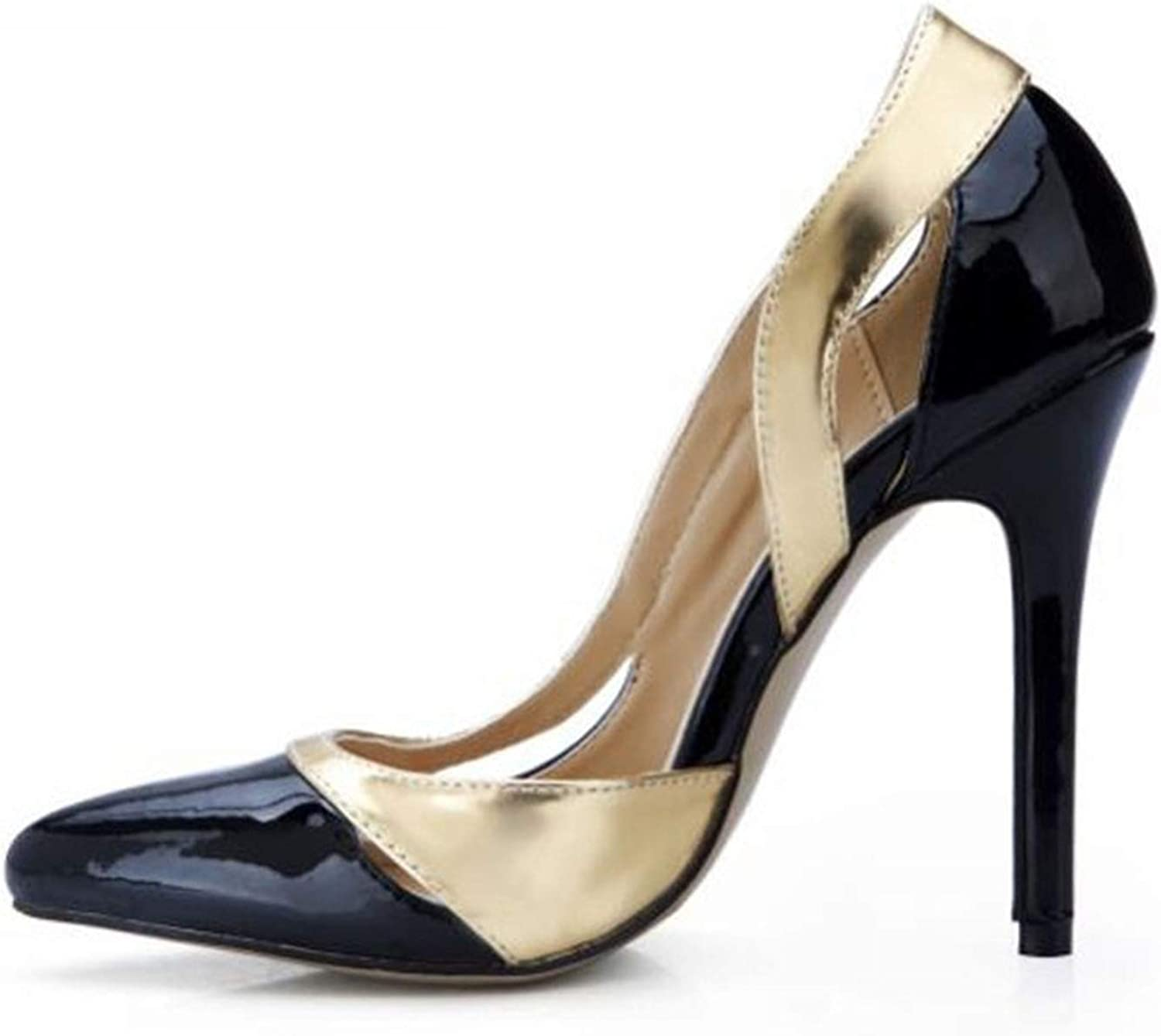 12 cm Thin High Heels Summer shoes Woman Sexy Sandals Patent Leather Pumps