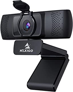 2021 1080P Streaming Business Webcam with Microphone & Privacy Cover, AutoFocus, NexiGo N930P HD USB Web Camera, for Zoom ...