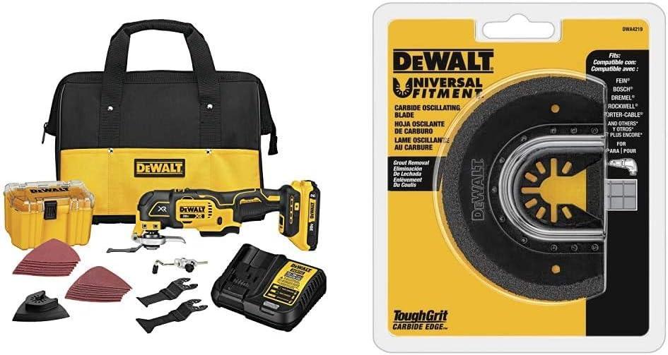 Max 68% OFF DEWALT 20V MAX XR Oscillating Variable Fort Worth Mall DC Speed Kit Multi-Tool