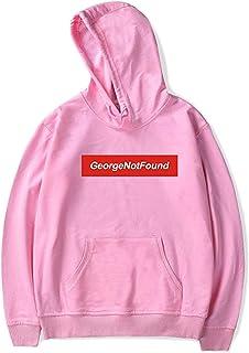 JHDESSLY GeorgeNotFound Merch Logo for Women/Men Long Sleeve Sweatshirt Hoodie Unisex Harajuku Tracksui