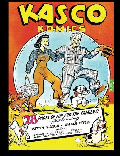 Kasco Komics #1: 1940's Funny Farm Comic