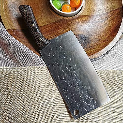 Carnicero Cleaver cuchillo Recogiendo Cocinar Cubiertos Verduras Carne cuchillos de cocina afilado de cortar Herramientas de la forja Cuchillo para utensilios (Color : Type 7)