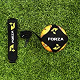 FORZA Ceinture d'Entraînement pour Football - Entraîneur Kick Solo | Pratique de Contrôle & Formation de Kick/Lancer/Frappes (avec Ballon & Pompe) (FORZA Ceinture d'Entraînement)