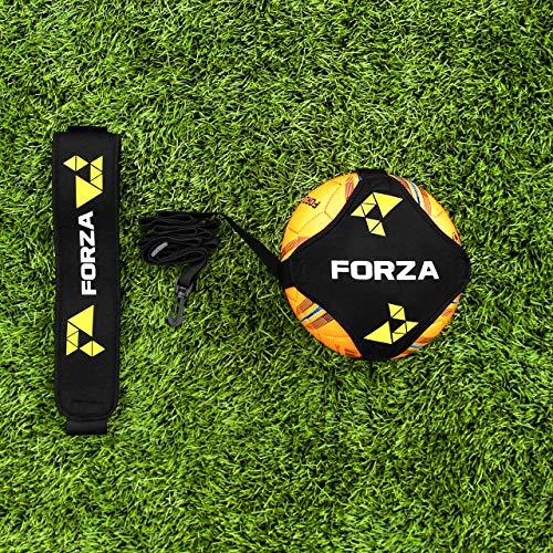 FORZA Solo Fußball Kick Trainer – das Beste Fußballtrainingsgerät (Ohne Ball und Pumpe)