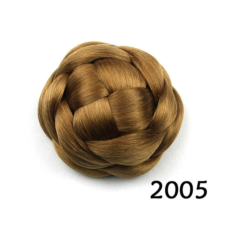 ヘッジ献身夢中JIANFU ブライダルヘッドドレスバンレディヘアピンスウィートフラワーリーボールヘッドヘア (Color : Color 2005)