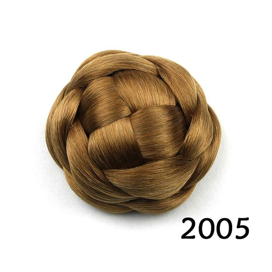 ぴったりリットルマッサージJIANFU ブライダルヘッドドレスバンレディヘアピンスウィートフラワーリーボールヘッドヘア (Color : Color 2005)