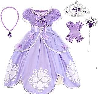 Romy's Collection Purple Amulet Princess Party Costume Dress Up Set