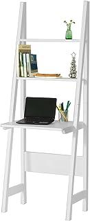 SoBuy® Mesa de ordenador con estante integrado, Estanterias