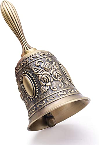 DomeStar Hand Bell Call Bell Brass Wedding Bells