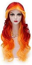 flame princess cosplay wig