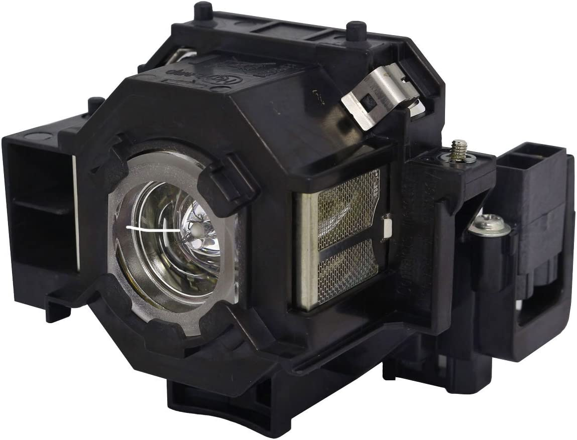 Aurabeam Professional ELPLP42 Replacement Projector Lamp with Housing for Epson PowerLite 83+ (Original Philips Bulb Inside)